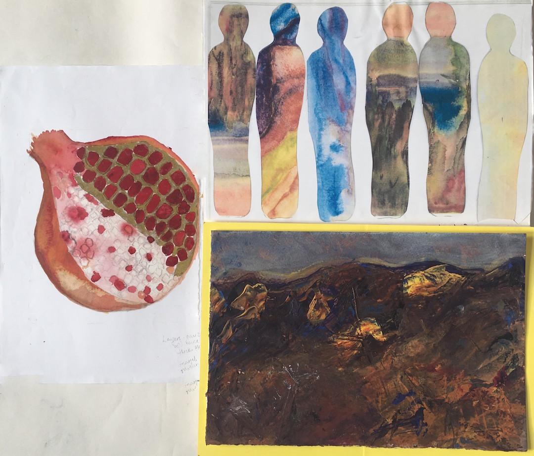 Pomegranate Palimpsest